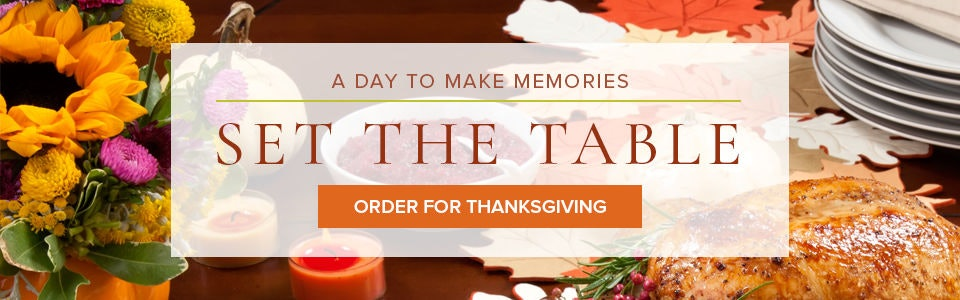 Set The Thanksgiving Table With Flowers from Campbell's Flowers in Pueblo or Nationwide.