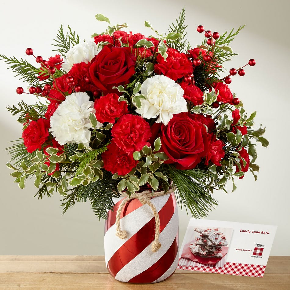 The Holiday Wishes Bouquet Florists Pueblo Co Same Day Delivery
