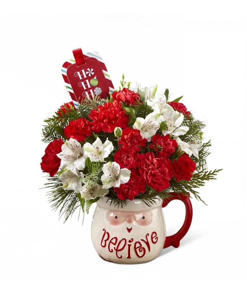 Flowers For Secret Santa Campbells Flowers