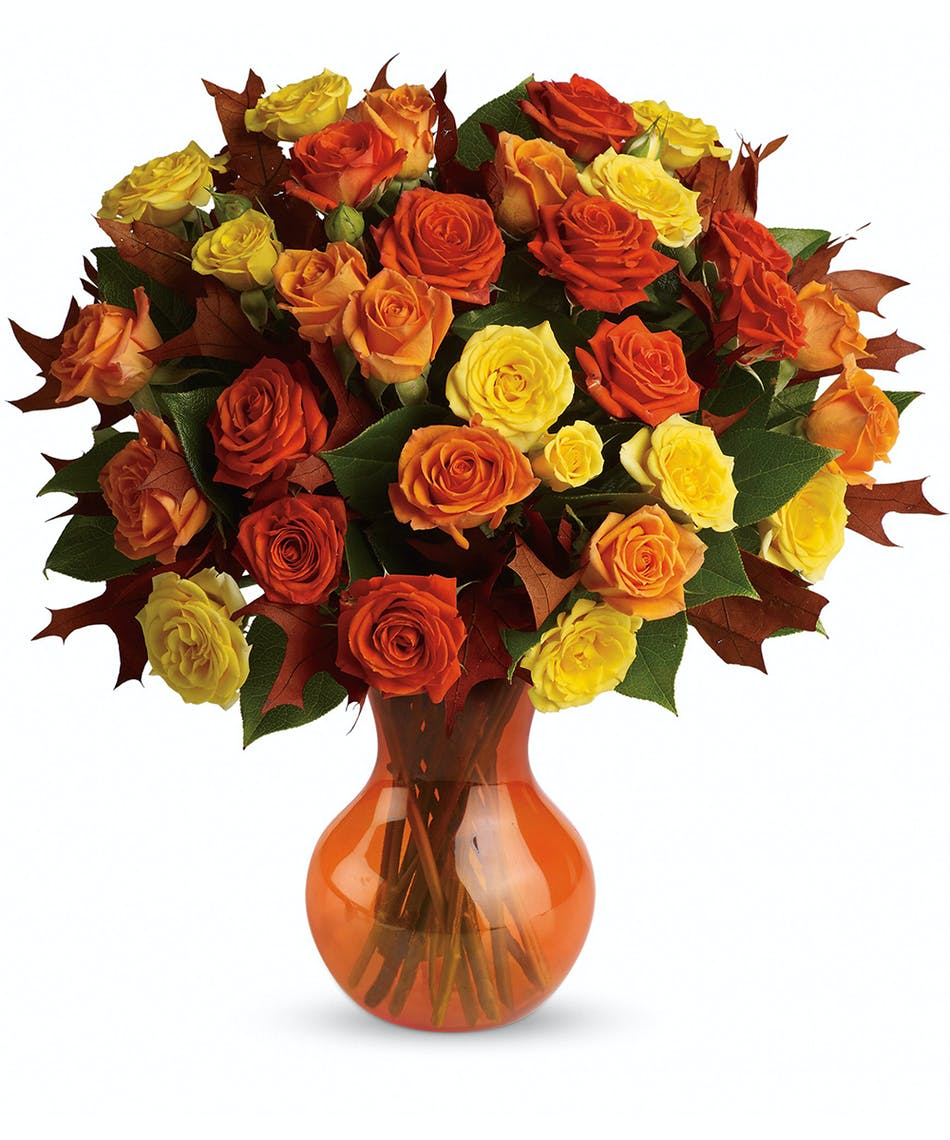 Fabulous Fall Roses - Florists Pueblo (CO) Same-day Delivery ...
