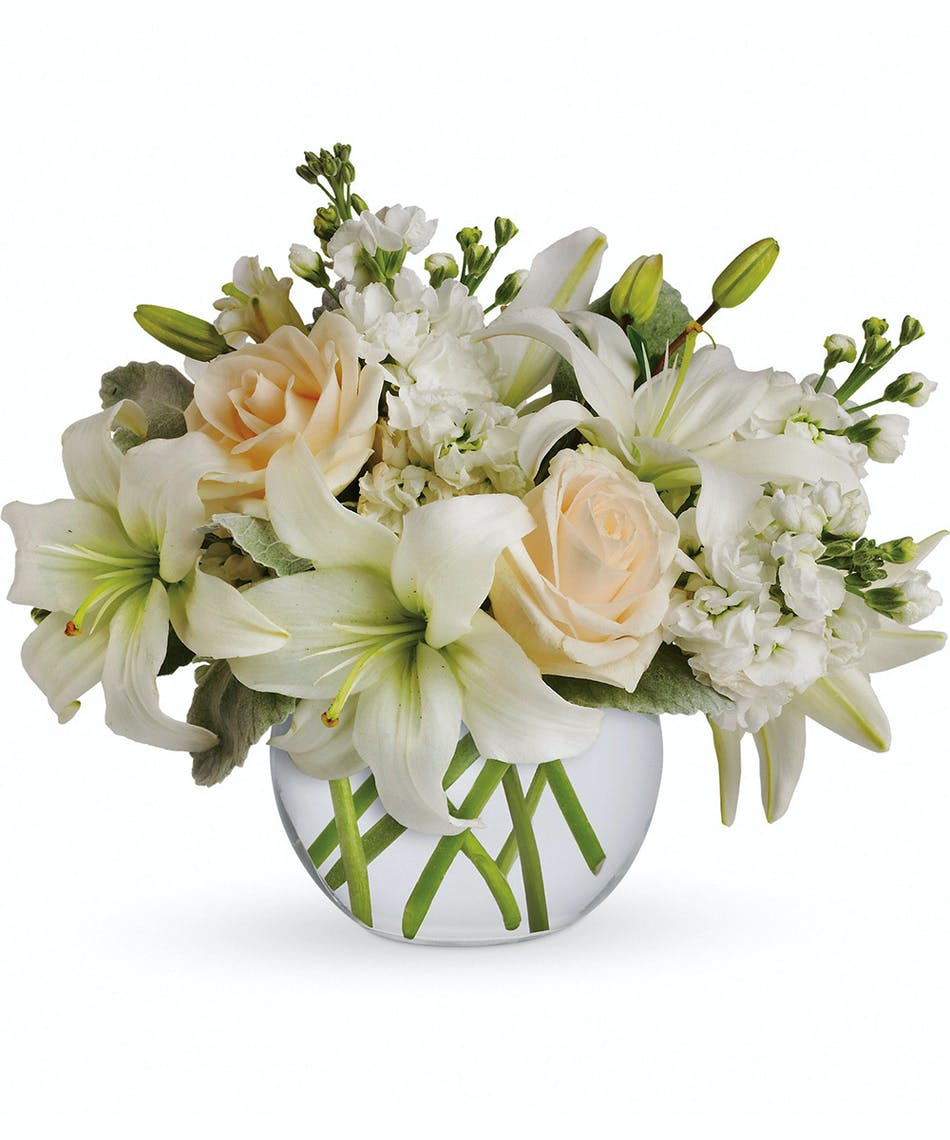 99e5d354077e Isle of White - Florists Pueblo (CO) Same-day Delivery - Campbell s Flowers    Greenhouse