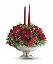 Glass Bowl Bouquet