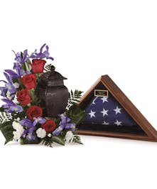 Patriotic Tribute Arrangement