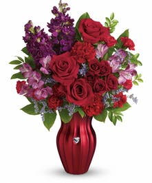 Valentine's Day Roses & Carnations Pueblo