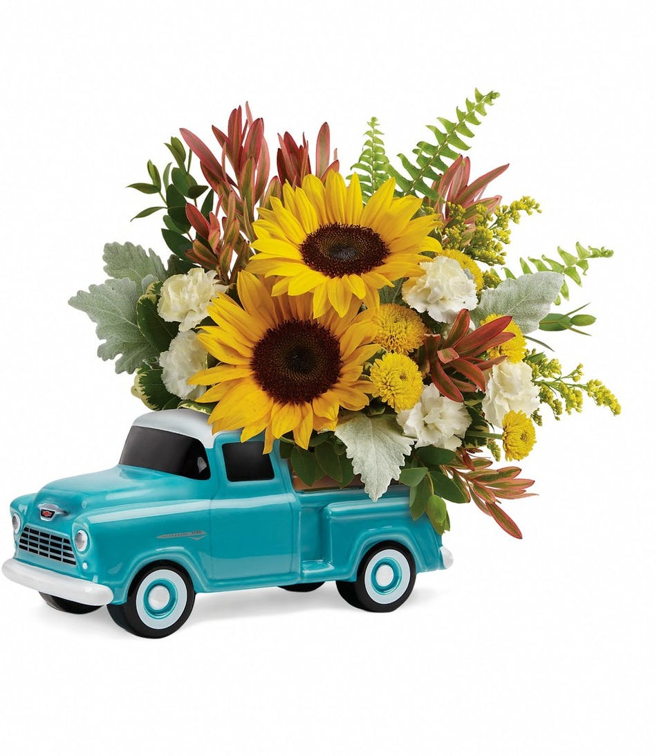 Chevy Pickup Bouquet Florists Pueblo Co Same Day Delivery