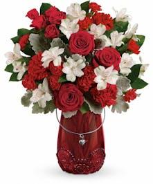 Red Haute Bouquet Pueblo