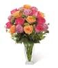 18 Mixed Roses