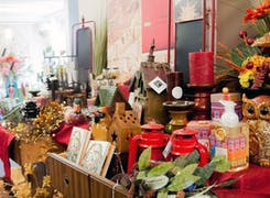 In addition to flowers and plants, Campbell's Flowers offers a broad range of gifts